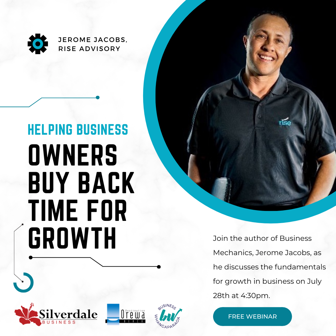 Helping Business Owners Buy Back Time for Growth